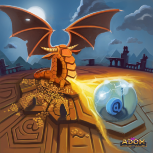 ADOM RPGCoverIllustration