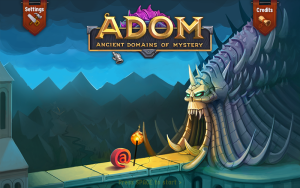 ADOM title screen